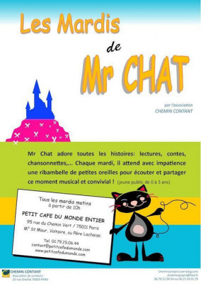 Les mardis de Mr Chat