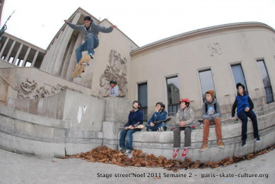 Stage de skateboard dans la Capitale