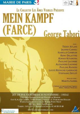 """""""Mein Kampf (Farce)"""", de George Tabori."""