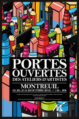Portes ouvertes des ateliers d'artistes sur 4 jours (450 artistes)