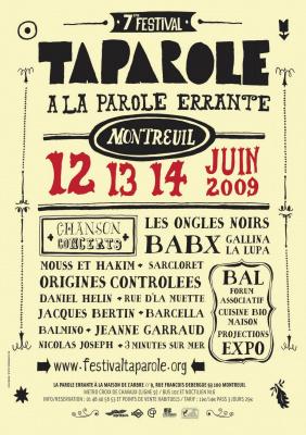 Festival, TaParole, Babx, Les Ongles noirs