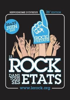 Le Rock dans tous ses états, Festival, Evreux, Concerts