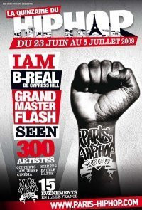 Festival, Paris Hip-Hop, IAM, B-real, Grandmasterflash, Seen