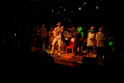 Satta Man en concert