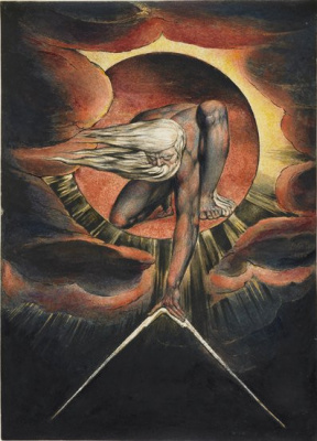 L'Europe, prophétie ou L'Ancêtre des jours, Frontispice. 1794.
