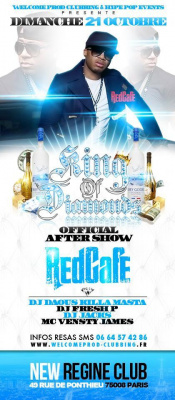 REDCAFE OFFICIAL AFTER PARTY @ NEW REGINE CLUB !!! SPECIALE VACANCES SCOLAIRES !!