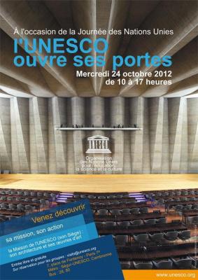 L'UNESCO ouvre ses portes