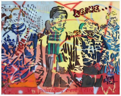 "Epsylon Point ""hihihihihihi"" Galerie Ligne 13"