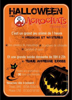 Halloween chez Acrochats