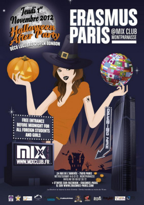 Erasmus Paris : Halloween After Party