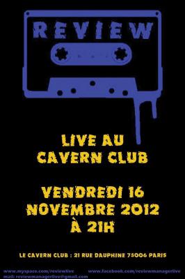 Review Live au Cavern Club