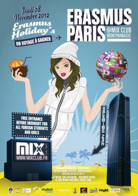 Erasmus Paris : Holidays