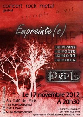 Empreinte(s) + Un vivant.. + Përl