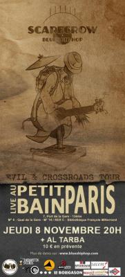 Scarecrow | Blues hiphop au Petit Bain le 8 novembre 2012