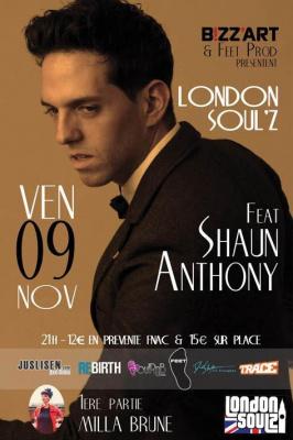 LONDON SOUL'Z Feat SHAUN ANTHONY