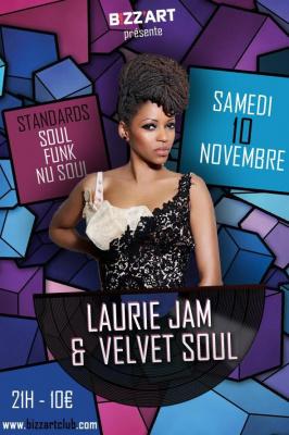LAURIE JAM & THE VELVET SOUL