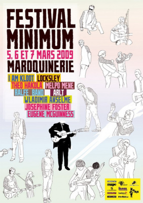 Affiche festival Minimum