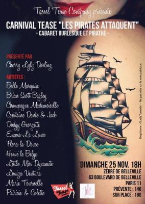 Carnival Tease : les pirates attaquent !!