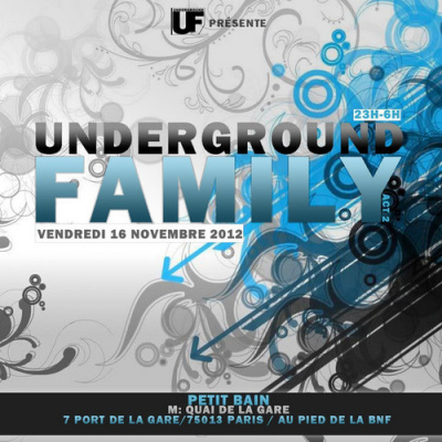 UNDERGROUND FAMILY L'ile Underground with ... TAPESH,HOLLEN...