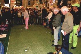 Les amateurs de golf ont rendez-vous Porte de Versailles