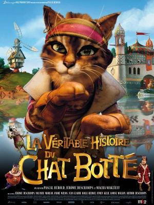 la véritable histoire du chat botté, deschamps, makeïeff, film d'animation