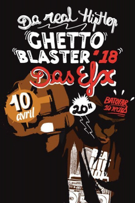 Soirée, Paris, Clubbing, Batofar, 10th Birthday, Ghettoblaster #18, Das Efx