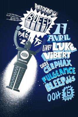 Soirée, Paris, Clubbing, Bleep, Batofar, Fulgeance