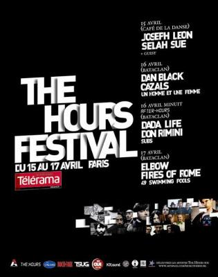 Musique, Concert, The Hours, Dan Black, Cazals, Dada Life, Fires of Rome, Bataclan, Café de la danse, Festival
