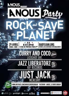 Soirée, Paris, Clubbing, Régine, ANP, A Nous Party, Just Jack, Jazz Liberatorz, Curry & Coco