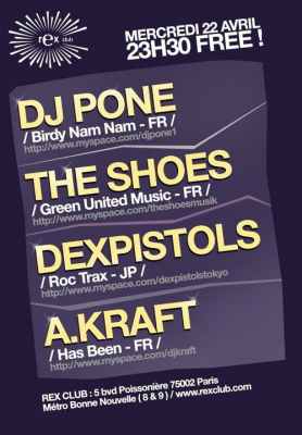 Soirée, Paris, Clubbing, Washing machine, BNN, Birdy Nam Nam, Pone, Dex Pistols, The shoes