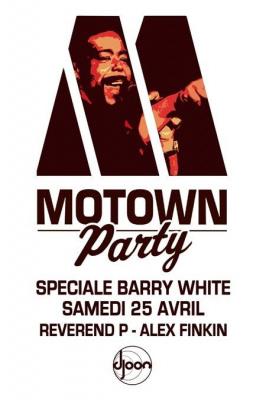 Soirée, Paris, Motown, Djoon, Reverand P, Alex Finkin