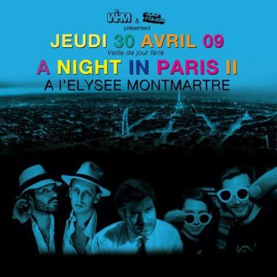 Soirée, Paris, Elysée Montmartre, A Night in Paris, Noze, Masomenos