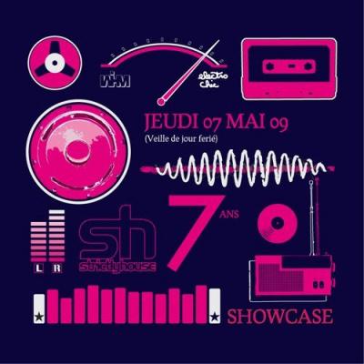 Soirée, Paris, Strictly House, 7 ans, Showcase, Freak'n chic, Get the curse, House Nation