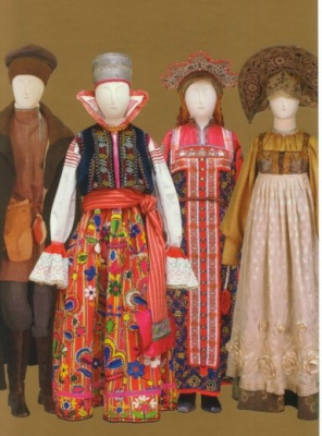 Costume populaire russe