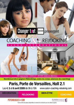 Salon international du coaching, relooking, bien être