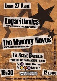 Logarithmics, Mammy Novas, Scène Bastille