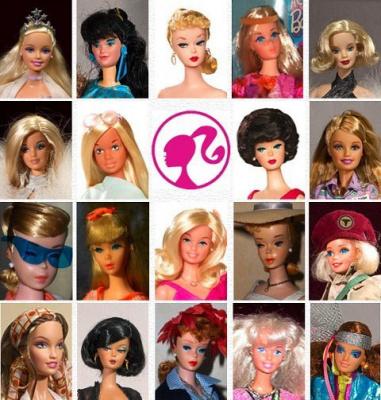 Barbie, 50 ans, Musée de la Poupée, Rétrospective
