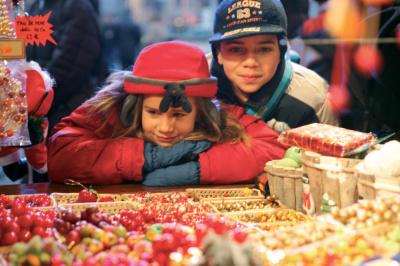 Marché de Noël alsacien de la Gare de l'Est