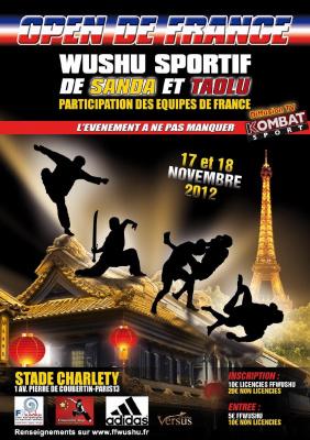 1er Open de France de Wushu
