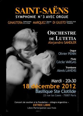 Concert Saint-Saëns et musiques latino-américaines