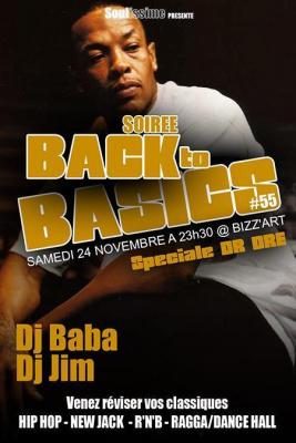 Soirée Back to Basics spéciale Dr Dre