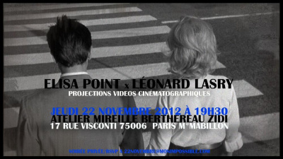 "ELISA POINT & LEONARD LASRY ""L'EXCEPTION"""