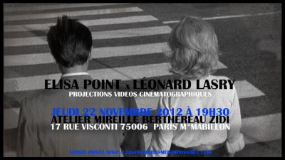 "ELISA POINT & LEONARD LASRY ""L'EXCEPTION"""