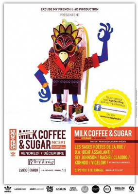 EXCUSE MY FRENCH - LES CARTES BLANCHES MILK COFFEE & SUGAR - MC's #1