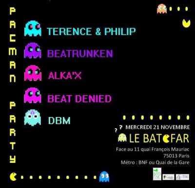 PACMAN PARTY #9 @ BATOFAR