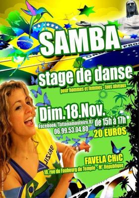 Tatiana Zumba Stage