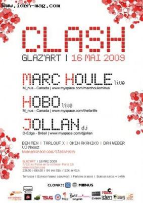 Soirée, Paris, Glaz'art, Marc Houle, Hobo, Jollan, Tarlouf x, Ben Men, Okinakaniko