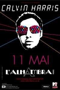Concert, Paris, Calvin Harris, I Created Disco, Alhambra
