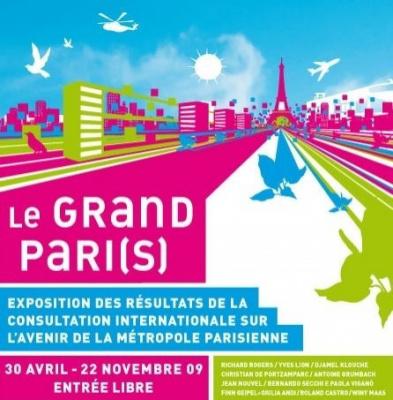 Exposition, Paris, Cité Chaillot, le Grand Paris