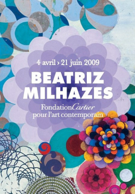 Beatriz Milhazes, Fondation Cartier, Paris, Milk Mel, Collage monumental
